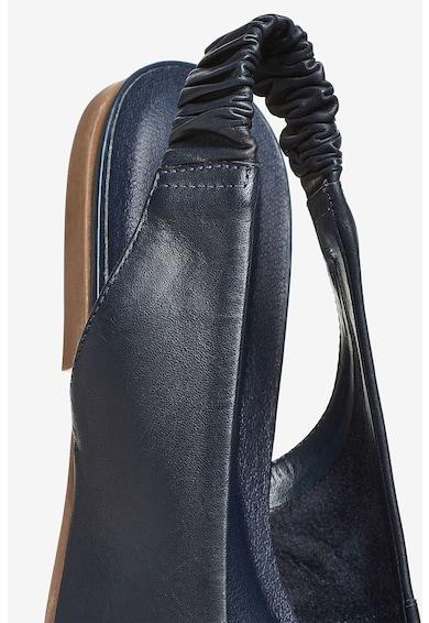 NEXT Pantofi cu bareta slingback, de piele, realizati cu tehnologie Forever Comfort® Femei