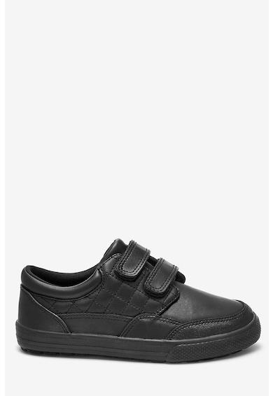 NEXT Pantofi sport de piele, cu velcro Baieti