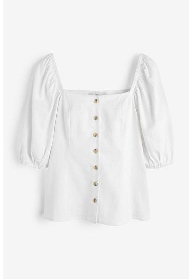 NEXT Bluza din amestec de in Femei