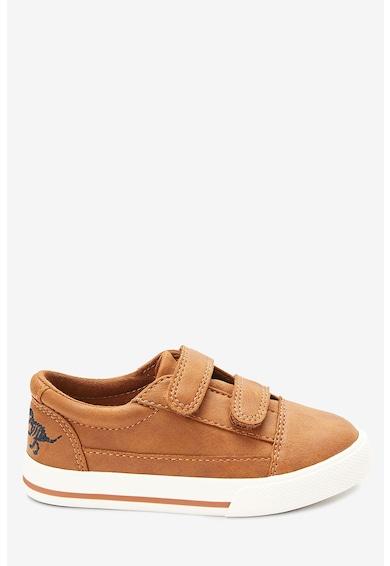NEXT Pantofi sport de piele ecologica, cu velcro Baieti