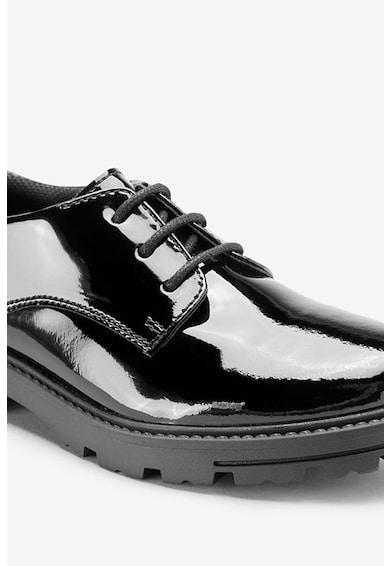 NEXT Pantofi de piele cu aspect lacuit Fete