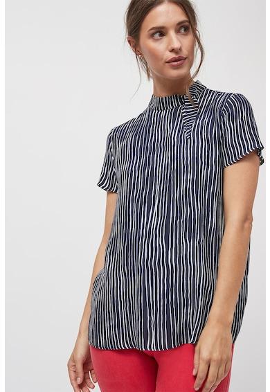 NEXT Bluza cu maneci scurte si model cu dungi Femei