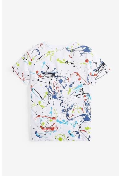 NEXT Tricou de bumbac cu imprimeu abstract Baieti