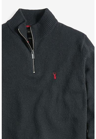 NEXT Pulover de lana cu detalii brodate Barbati