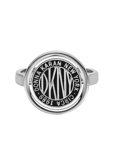 DKNY Inel cu detaliu logo Femei