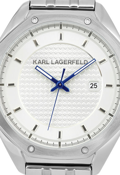 Karl Lagerfeld Ceas analog cu cadran texturat Barbati