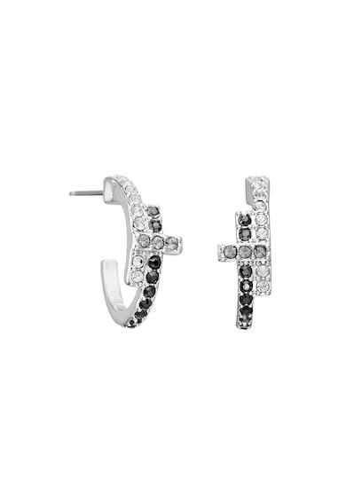 Karl Lagerfeld Cercei rotunzi decorati cu cristale Swarovski Femei