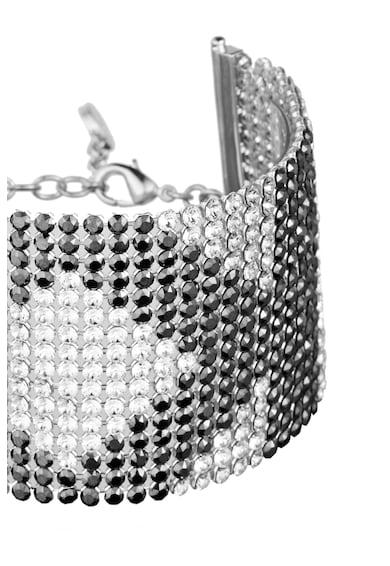 Karl Lagerfeld Bratara placata cu rodiu, cu cristale Swarovski® Femei