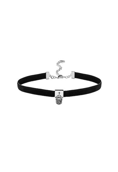 Karl Lagerfeld Chocker placat cu rodiu, decorat cu cristale Swarovski® Femei