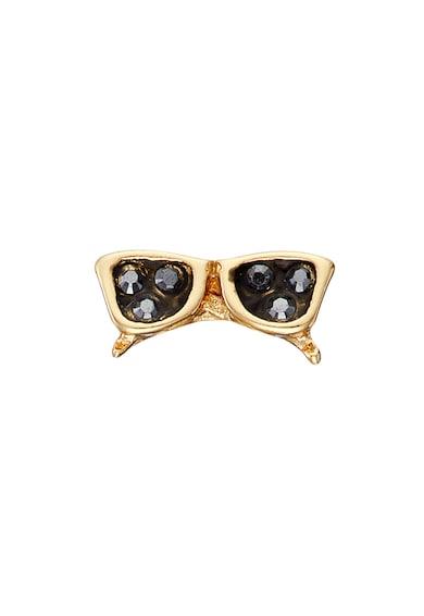 Karl Lagerfeld Set de cercei placati cu aur de 12K, 2 perechi Femei