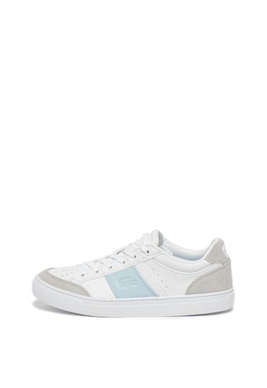 Lacoste Pantofi sport de piele, cu garnituri de piele intoarsa Courtline 319 Femei
