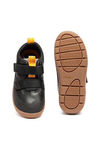 Clarks Pantofi de piele, cu velcro Play Hike Fete