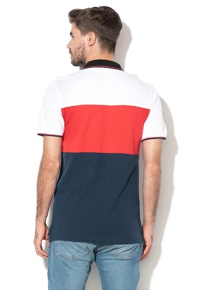 Levi's Tricou polo din material pique cu model colorblock Barbati