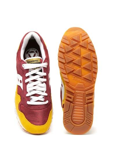 Saucony Pantofi sport cu insertii de piele intoarsa Shadow 5000 Barbati