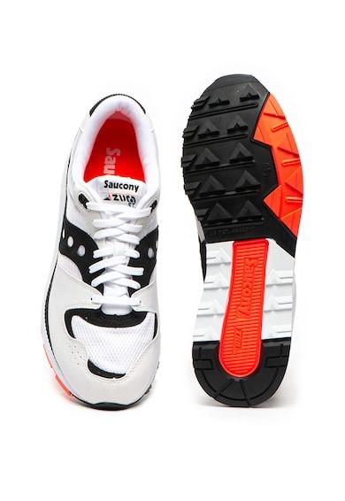 Saucony Pantofi sport cu insertii de piele intoarsa ecologica Azura Barbati