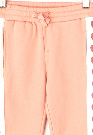 GUESS JEANS Pantaloni sport cu segmente laterale contrastante Fete