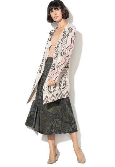 DESIGUAL Cardigan cu imprimeu floral Laval Femei