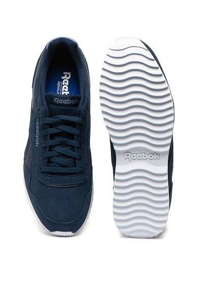Reebok Pantofi sport cu insertii de piele intoarsa, realizati cu Ortholite®, Royal Glide Barbati