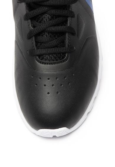 Reebok Pantofi sport usori de piele ecologica cu cu garnitura de plasa Rush Runner Fete