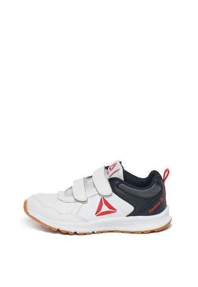 Reebok Pantofi sport din piele, pentru alergare Almotio 4.0 Baieti