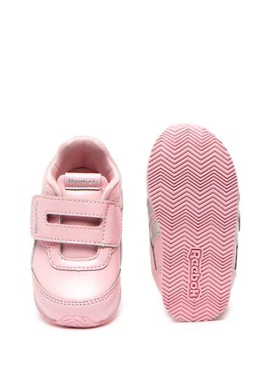 Reebok Pantofi sport de piele ecologica cu velcro Fete