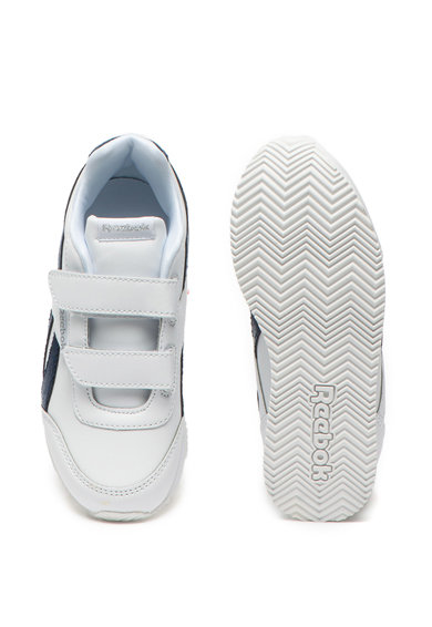 Reebok Pantofi sport de piele ecologica cu garnitura metalizata Royal Fete