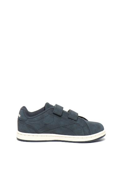 Reebok Pantofi sport de piele ecologica, cu velcro Royal Complete Clean Baieti