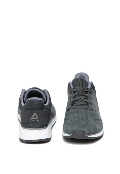 Reebok Pantofi sport de piele intoarsa si material textil Ever Road DMX 2.0 Barbati