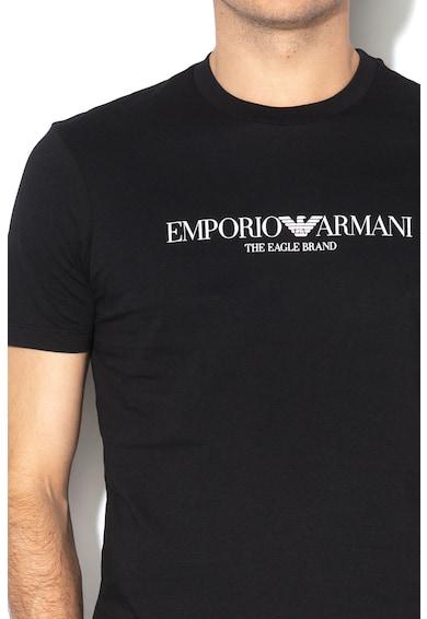 Emporio Armani Tricou cu imprimeu logo 1 Barbati