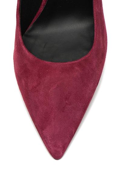 Furla Pantofi stiletto de piele intoarsa, cu accente metalizate Eva Femei