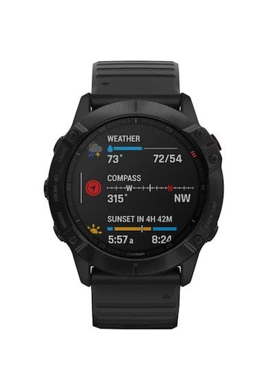 Garmin Ceas Smartwatch  Fenix 6X Pro, 51 mm, Black Femei