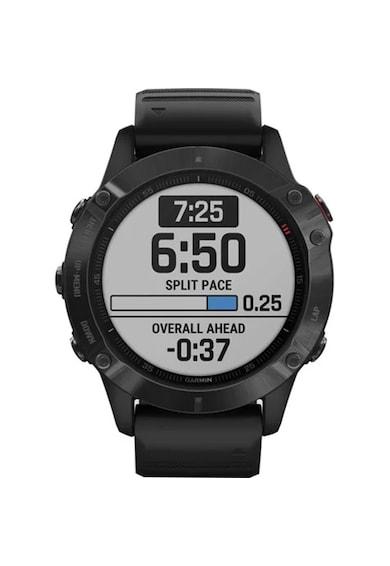 Garmin Ceas Smartwatch  Fenix 6 Pro, 47 mm, Black Barbati