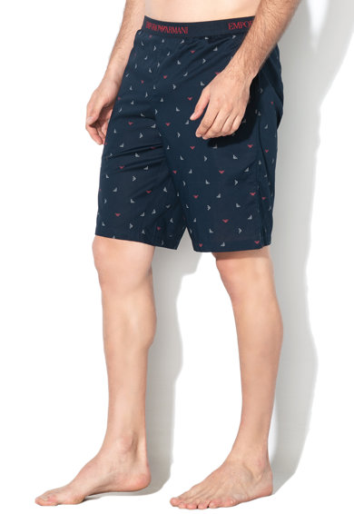 Emporio Armani Underwear Pantaloni de pijama cu logo Barbati