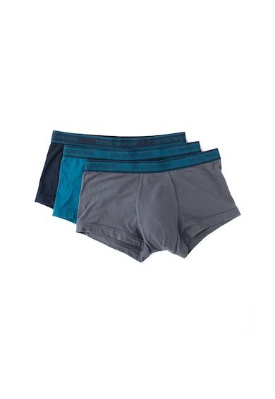 Emporio Armani Underwear Set de boxeri cu banda logo- 3 perechi Barbati