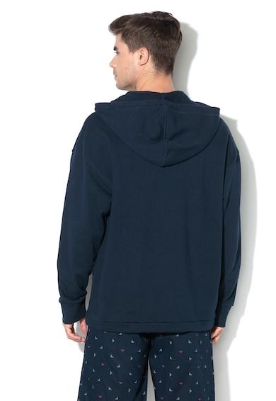 Emporio Armani Underwear Hanorac de casa, cu imprimeu logo Barbati