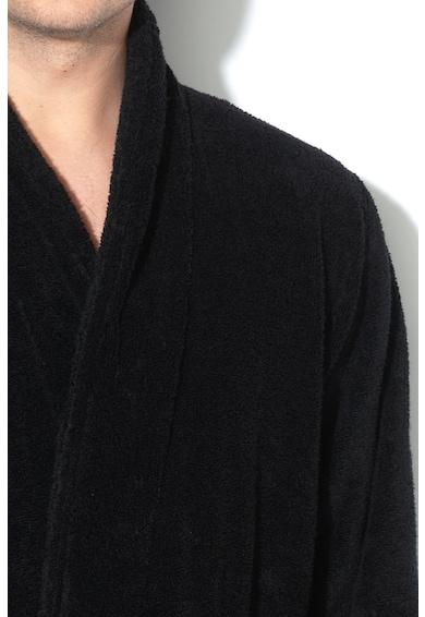 Emporio Armani Underwear Halat din material terry cu cordon in talie Barbati