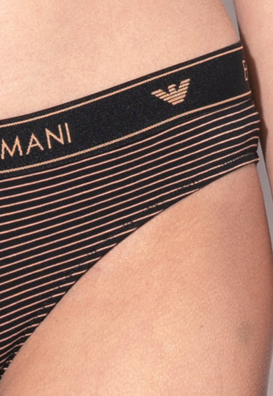 Emporio Armani Underwear Set de chiloti cu model - 2 perechi Femei
