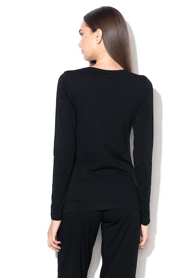 Emporio Armani Underwear Bluza de casa cu logo Femei