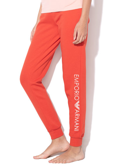 Emporio Armani Underwear Pantaloni de casa cu logo Femei