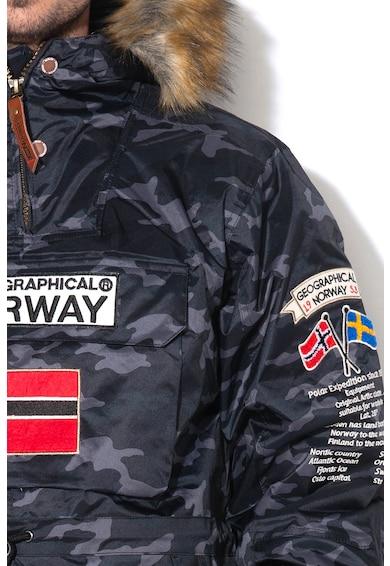 Geographical Norway Jacheta cu vatelina subtire, fara inchidere Barman Barbati