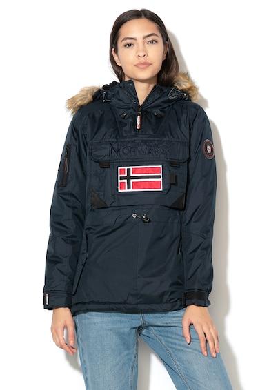 Geographical Norway Geaca fara inchidere cu logo Bulle Femei