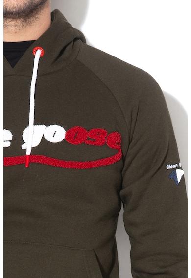 Stone Goose Hanorac cu aplicatie logo texturata Foose Barbati