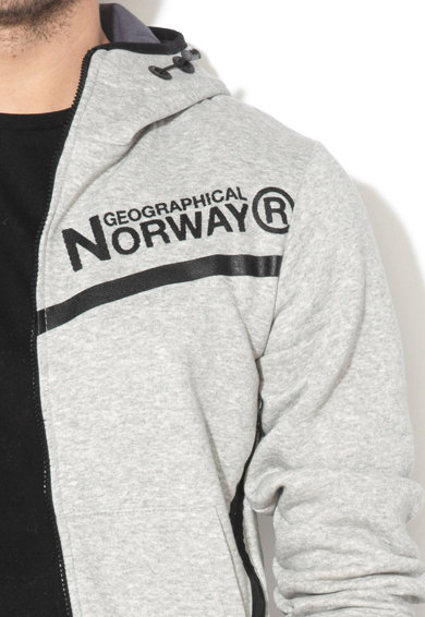 Geographical Norway Hanorac cu imprimeu logo Guvex Barbati