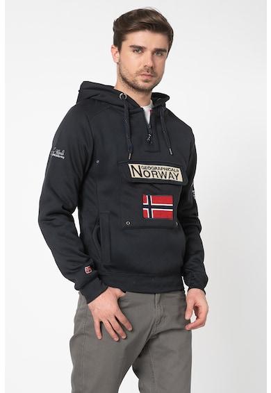Geographical Norway Hanorac cu captuseala din fleece Gymclass Barbati
