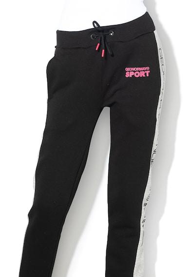 Geographical Norway Pantaloni sport cu logo Molory Femei