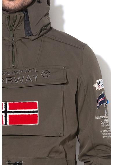 Geographical Norway Jacheta fara inchidere, cu gluga detasabila cu fermoar Terreaux Barbati