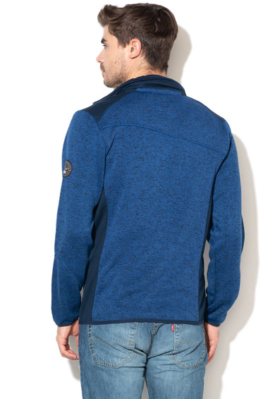 Geographical Norway Bluza sport cu fermoar si aspect tricotat Urval Barbati