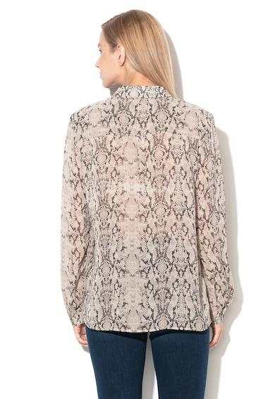 Esprit Kígyóbőr mintájú ing zsebekkel a mellrészén női