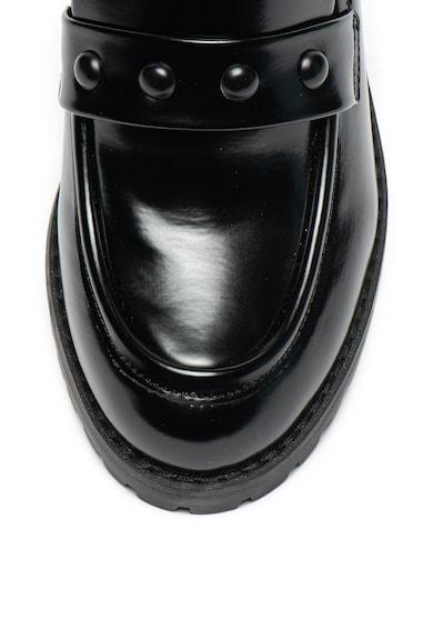 MTNG Pantofi din piele ecologica cu toc masiv Femei