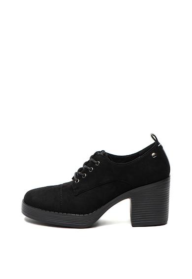 MTNG Pantofi din piele intoarsa cu toc masiv Femei
